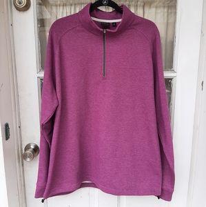 Dunning Golf Mens Pullover Sweatshirt Sz XL